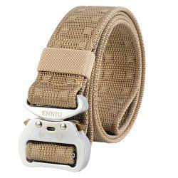 ENNIU Quick Dry Nylon Adjustable Durable Weaving Military Tactical Belt -