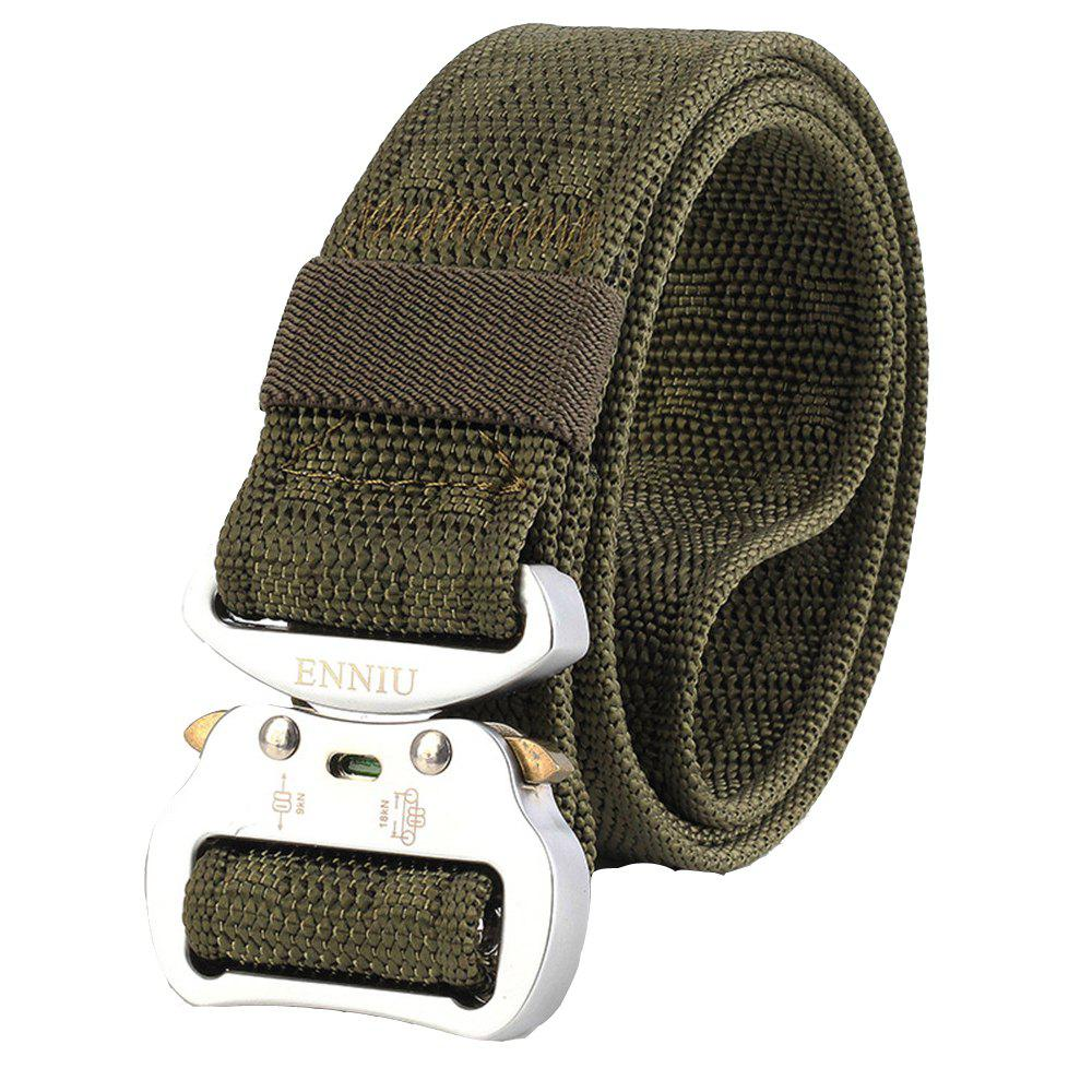 Buy ENNIU Quick Dry Nylon Adjustable Durable Weaving Military Tactical Belt