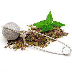Stainless Steel Chain Handle Tea Ball Infuser -