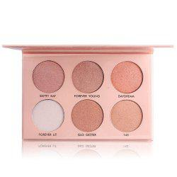 7003-037N MISS ROSE Six-color Three-dimensional White Concealer High-light Powder -