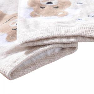Water Absorption and Odor Proof Cotton Sock Five Double Color Mix and Match -