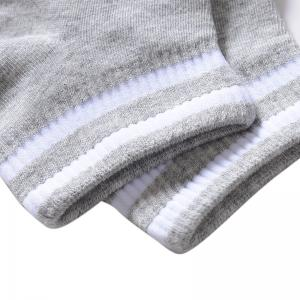 New Sweaty Odorless Pure Cotton Boat Socks Five Double Color Mix and Match -