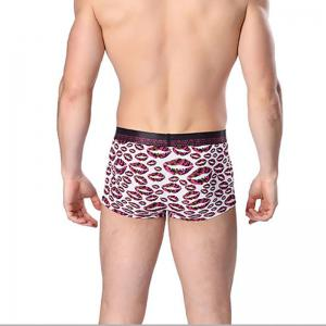 Cotton Men's Boxers Printing Breathable Panties Underwear -