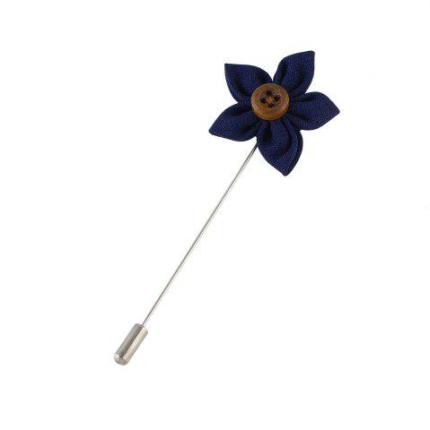Buy Colorful Fabric Flower Brooch Pins