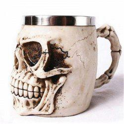 3D Stainless Steel Cup Coffee Mug -
