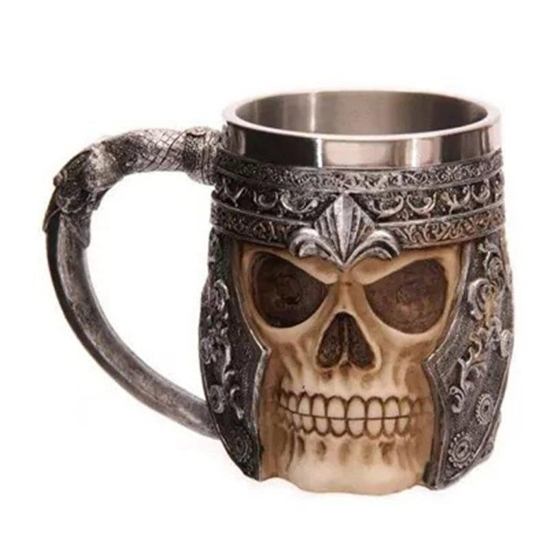 Hot 3D Stainless Steel Cup Coffee Mug