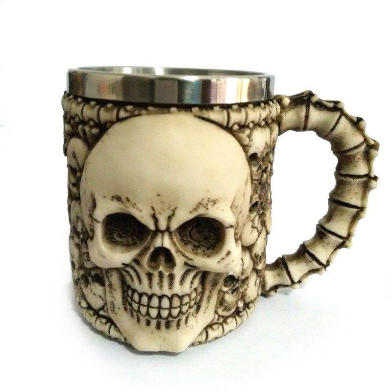Fancy 3D Stainless Steel Cup Coffee Mug