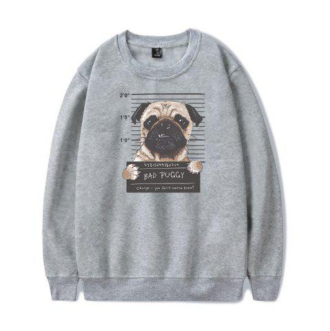 Outfit 2018 New Cartoon Dog Sweatshirt