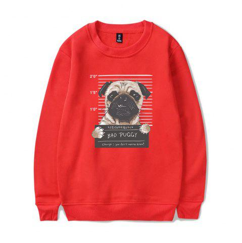 Affordable 2018 New Cartoon Dog Sweatshirt