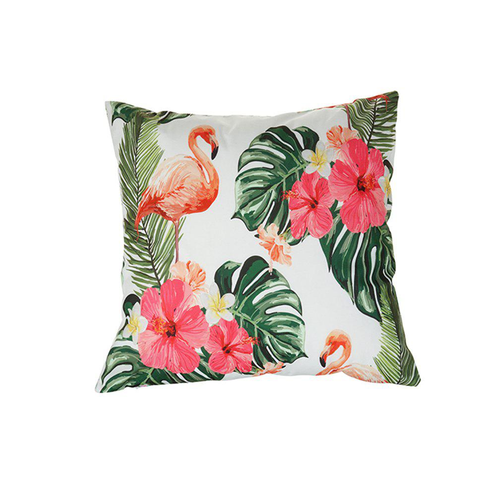 Buy Bird and Flower Pink Pillowcase