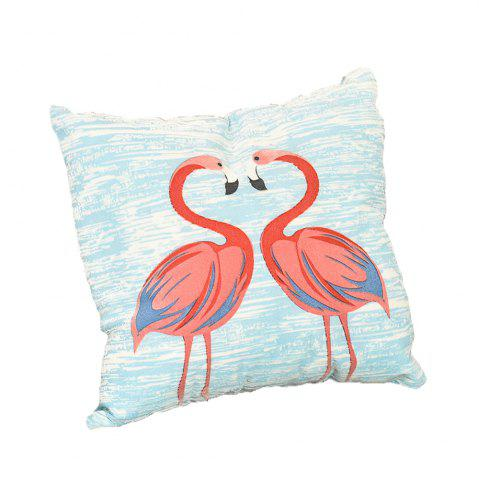 Online Pastoral Birds Pattern Cushions Cover Pillowcase