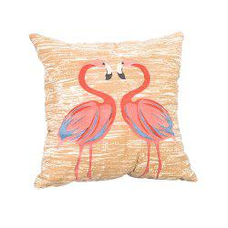 Pastoral Birds Pattern Cushions Cover Pillowcase -