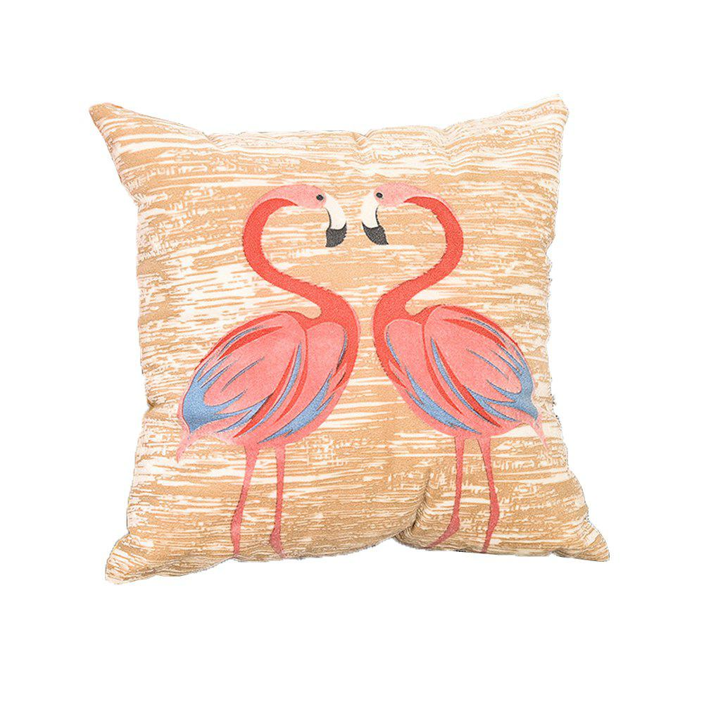 Trendy Pastoral Birds Pattern Cushions Cover Pillowcase