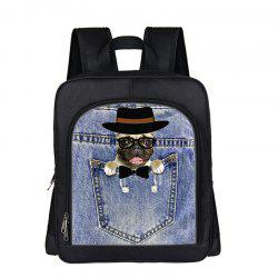 Online Shopping Good Cute Dog Cool Black Boys Girls Kids School Bags -