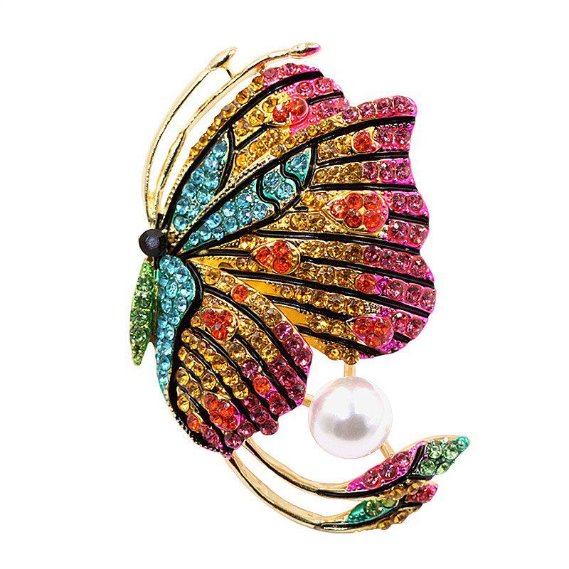 PULATU Diamond Colorful Butterfly Brooch для женщин XZ-C1L7-3