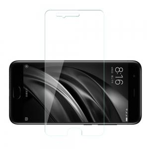 Tempered Glass Film Steel Oiled 0.26MM Semi-Screen 2.5D Round Edge Anti-Glare High-Definition 9H for Xiaomi 6 -