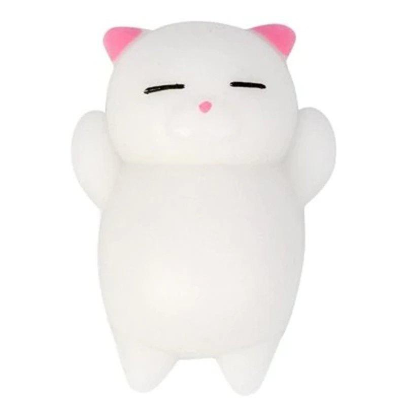 Outfit Cute Cartoon Lazy Sleeping Cat TPR Jumbo Squishy Toy