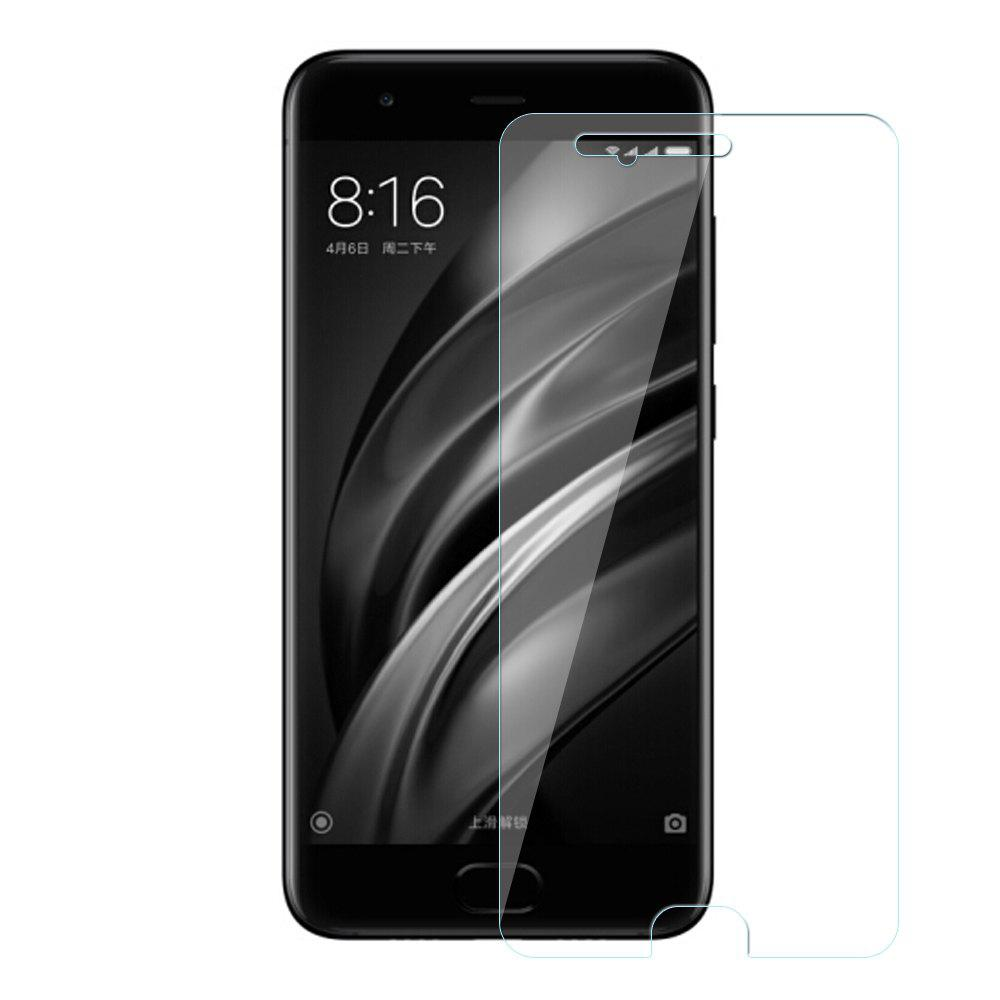 Best Tempered Glass Film Steel Oiled 0.26MM Semi-Screen 2.5D Round Edge Anti-Glare High-Definition 9H for Xiaomi 6