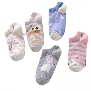 Spring and Summer Cotton Sock Five Double Color Mix and Match -