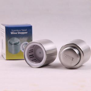 Gift Press Type Stainless Steel Wine Champagne Plug -