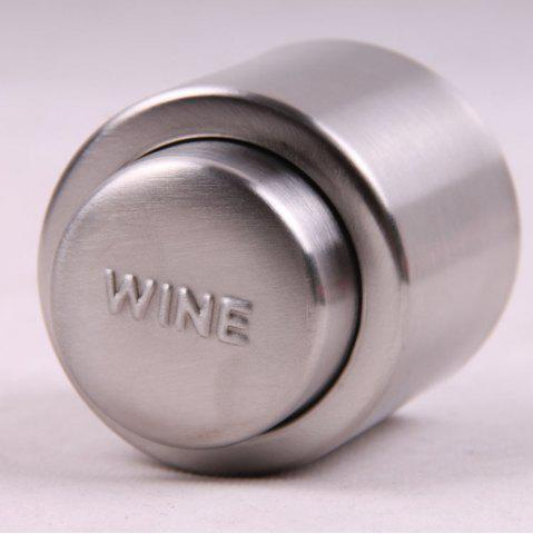 Affordable Gift Press Type Stainless Steel Wine Champagne Plug