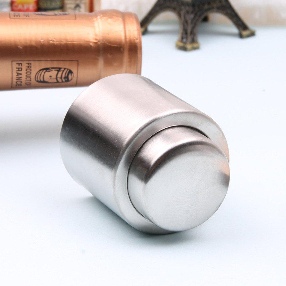 Discount Gift Press Type Stainless Steel Wine Champagne Plug