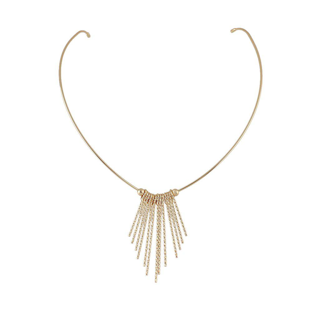 Outfits Gold-color Tiaras Tassel Charm Hairwear