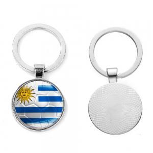 Flag Football Portable Key Chain -