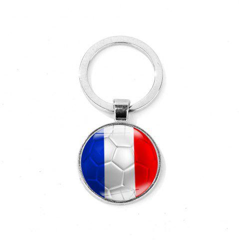 Fancy Flag Football Portable Key Chain