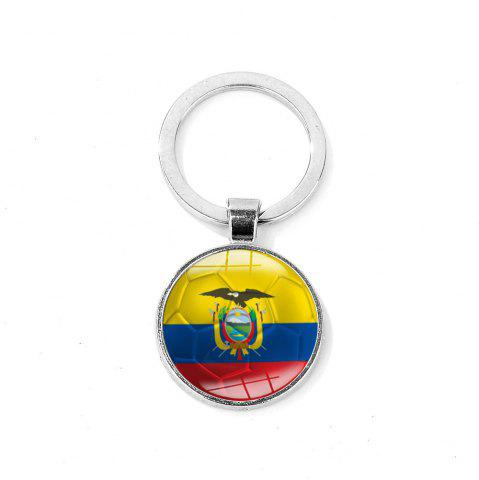 Fashion Flag Football Portable Key Chain