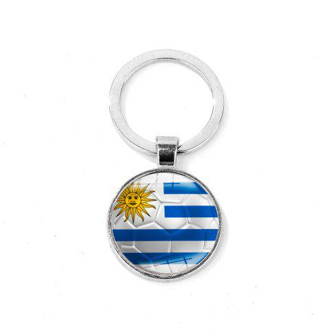 Outfits Flag Football Portable Key Chain
