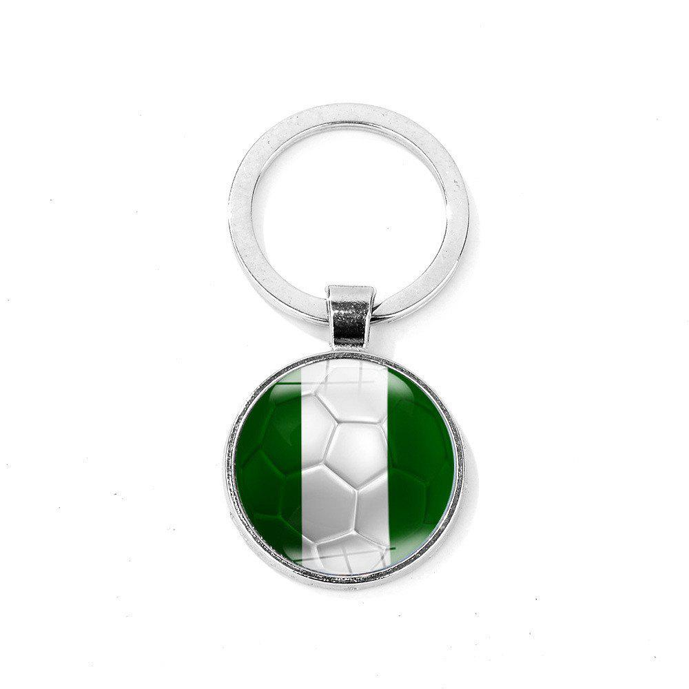 Online Flag Football Portable Key Chain