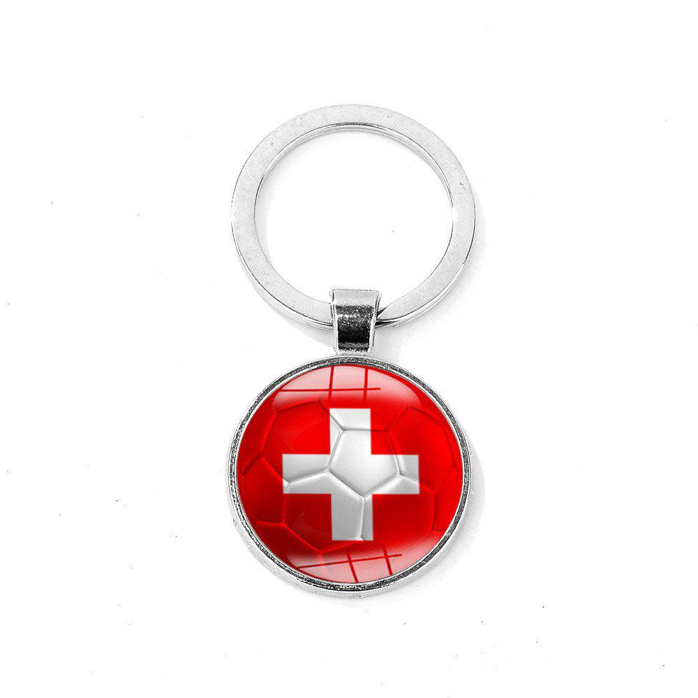 Discount Flag Football Portable Key Chain