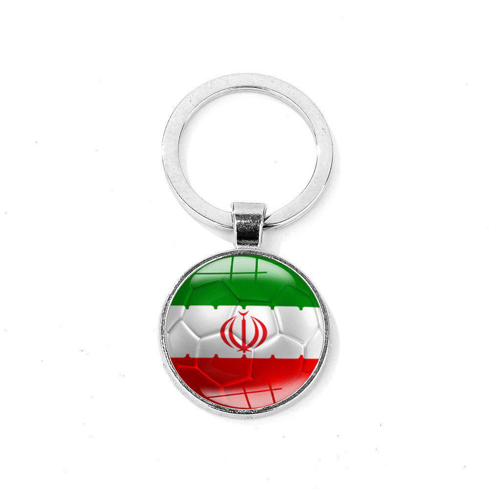 Trendy Flag Football Portable Key Chain
