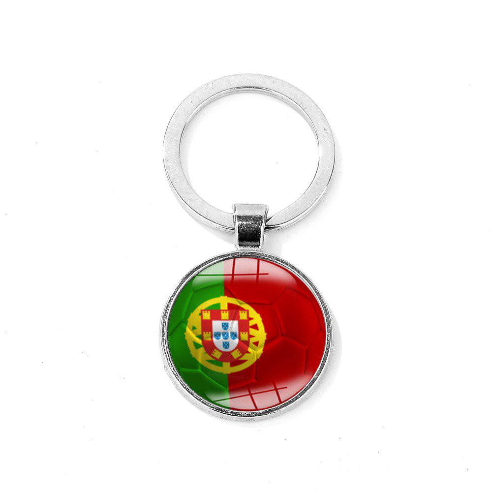 Affordable Flag Football Portable Key Chain