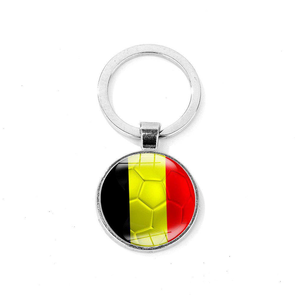 New Flag Football Portable Key Chain