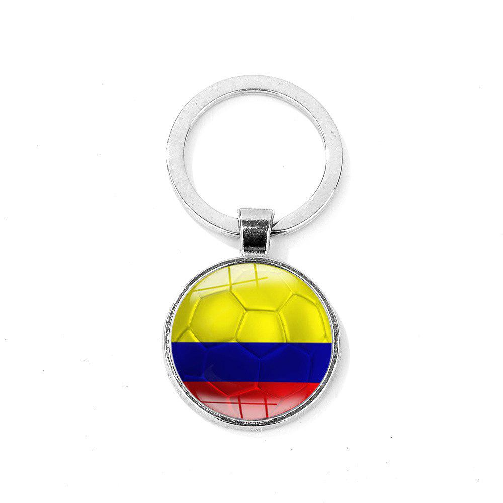 Cheap Flag Football Portable Key Chain