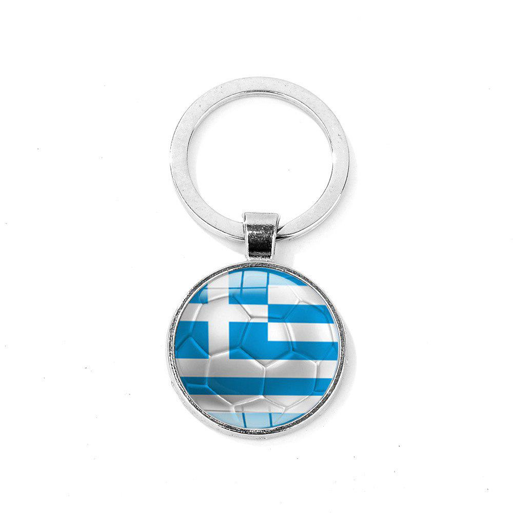 Sale Flag Football Portable Key Chain
