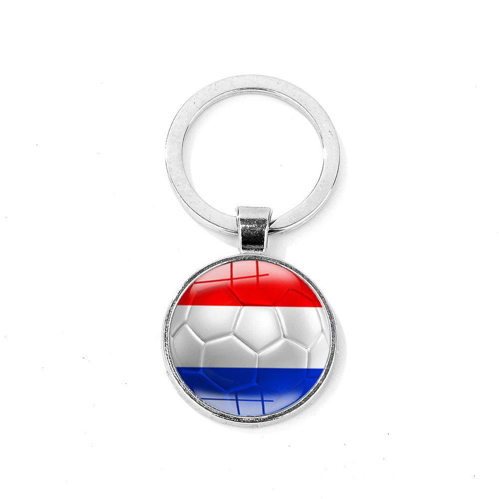 Latest Flag Football Portable Key Chain