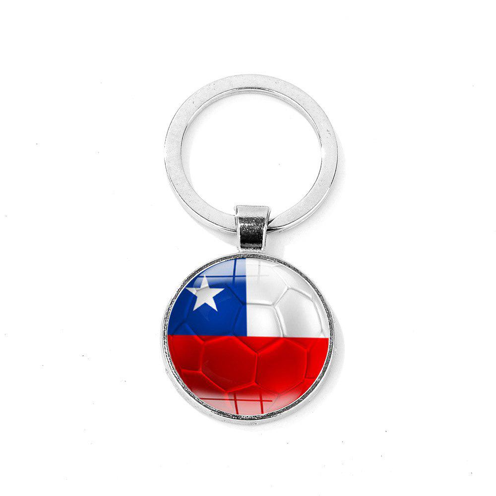 Buy Flag Football Portable Key Chain