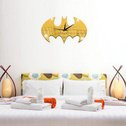 Batman Stickers horloge murale pour salon décoration artisanat -