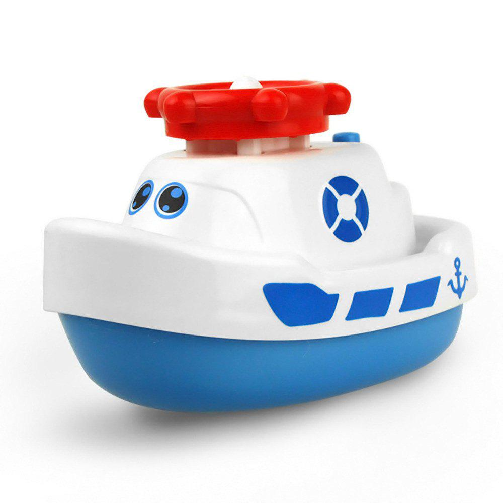 2018 Creative Electric Water Jet Boat Bath Tub Toy For Children In ...