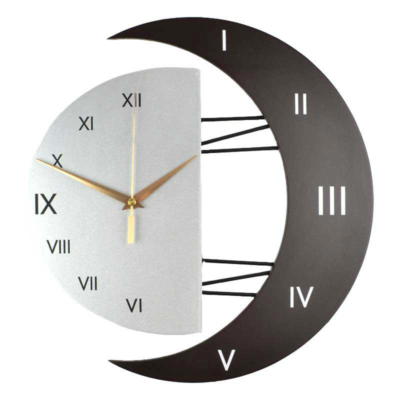 Sale Fashion Creative Moon Frame Mute Quartz Clock