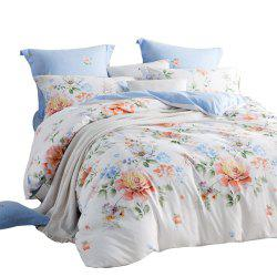 LOVO Pastoral Color Four Pieces of 1.8 Meter Bedding Sets -