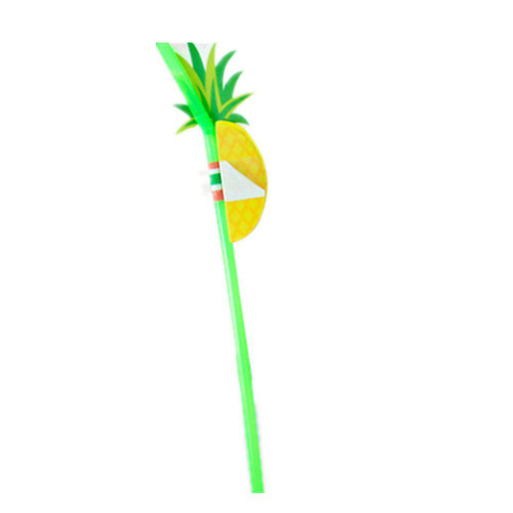 Fancy 30 Support Creative Pineapple Modeling Birthday Party Stereo 3D Soft Sucker