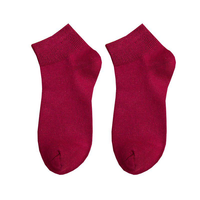 Chic Candy Colored Ladies Short Socks