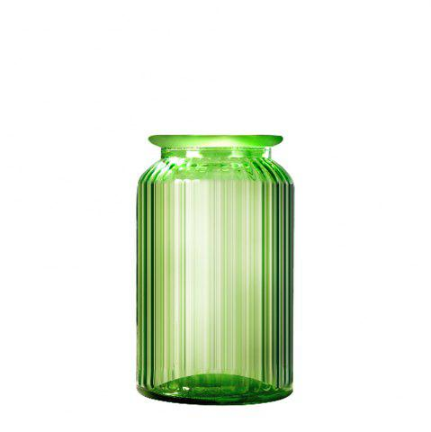WX 032801 Simple Fashion Grocery Retro Transparent Glass Water Vase