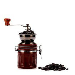 TB-BM-90 Domestic Small-Scale Sealed Pot Ceramic Manual Coffee Grinder -