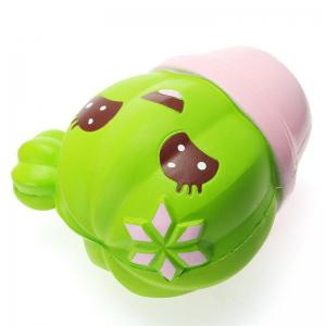 Jumbo Squishy Children Potted Cactus  Kawaii Soft Toy Slow Rising Adults -