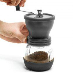 Manual Mini Mill Slim Hand Coffee Beans Grinder Nuts Grinding Machine -